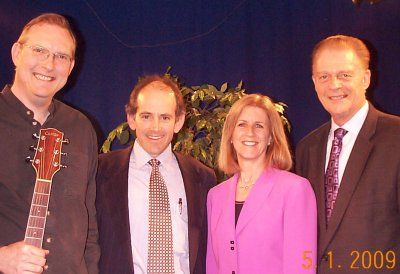 "Mark Shepard, Clive Swersky, Laurie Hathorn, Dave Jenks hit it off fabulously when we met on the ""Alive With Clive"" show"